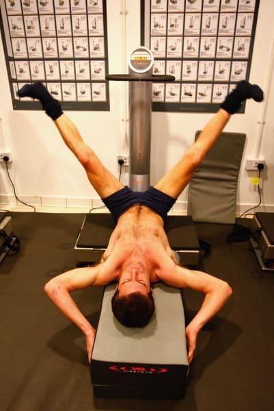 Mark Webber fitness