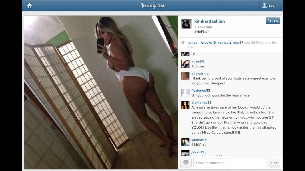 kardashian instagram swim suit