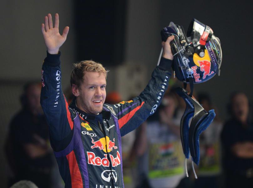Vettel title