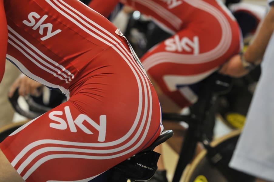 mclaren british cycling