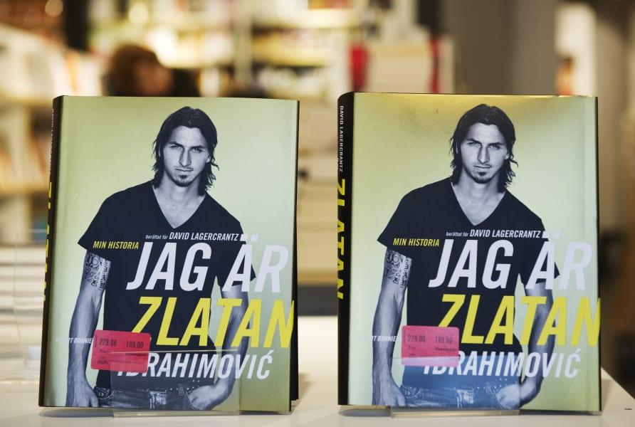 Zlatan book launch