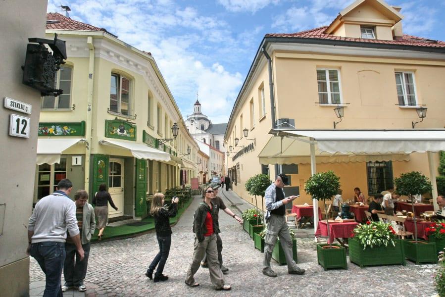 Flight destination Vilnius