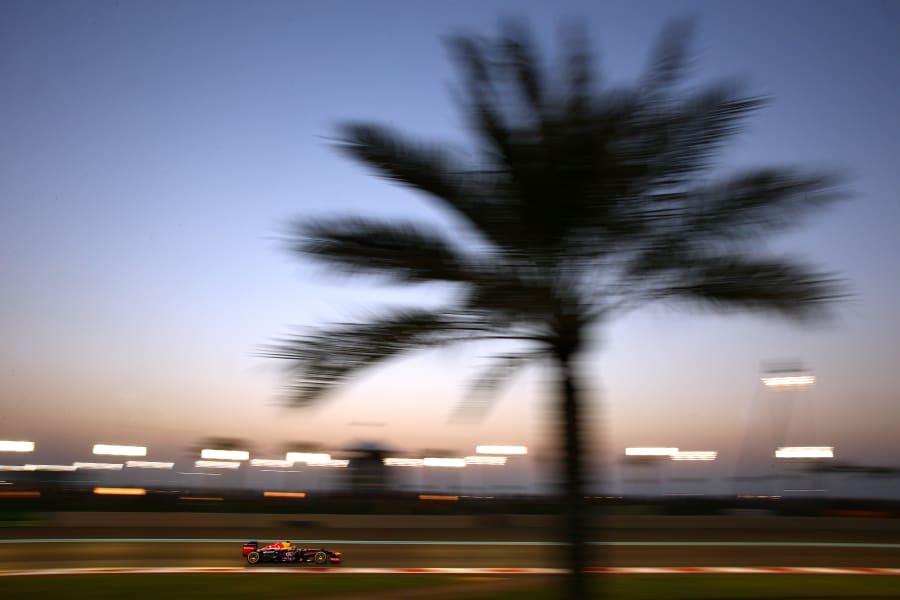 vettel palm night