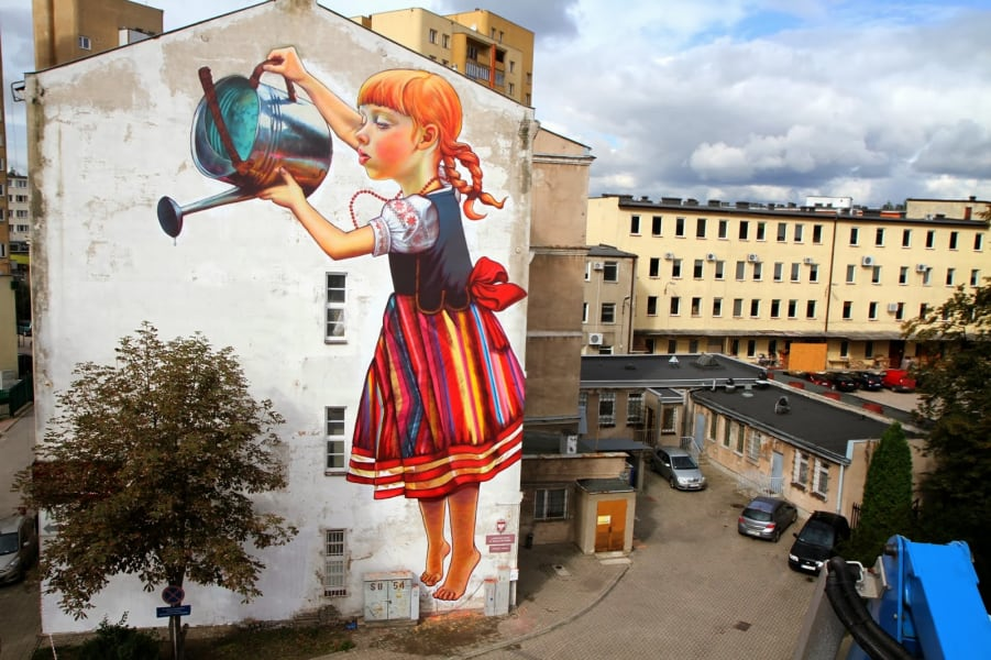 Natalia Rak poland street art 2