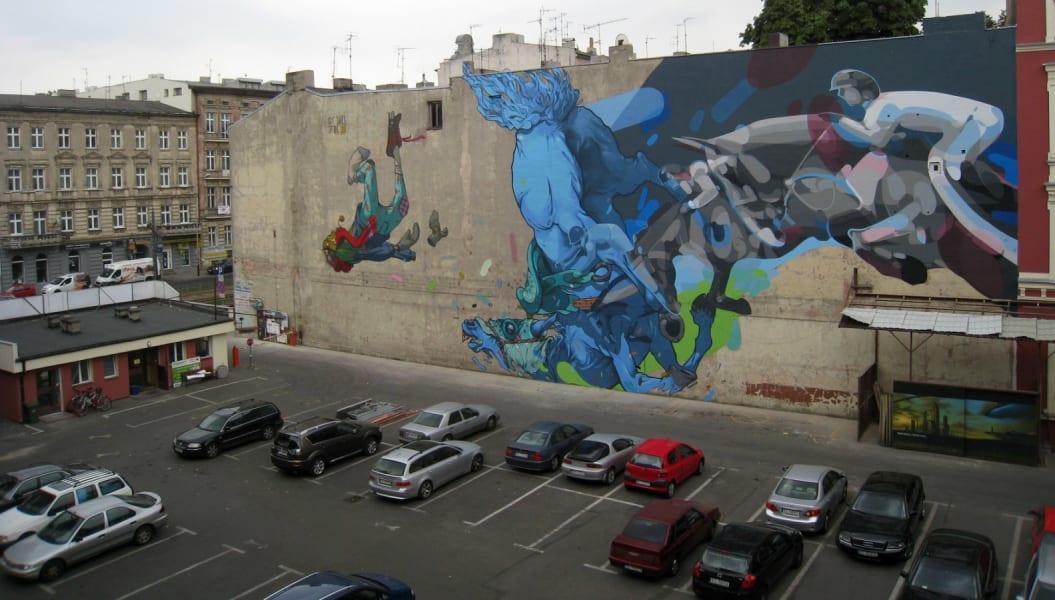 Etam poland street art 2