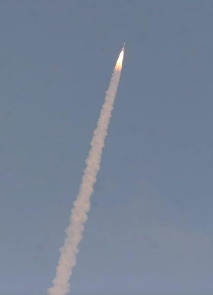 Mars India launch rocket