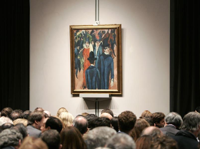 Degenerate art Kirchner