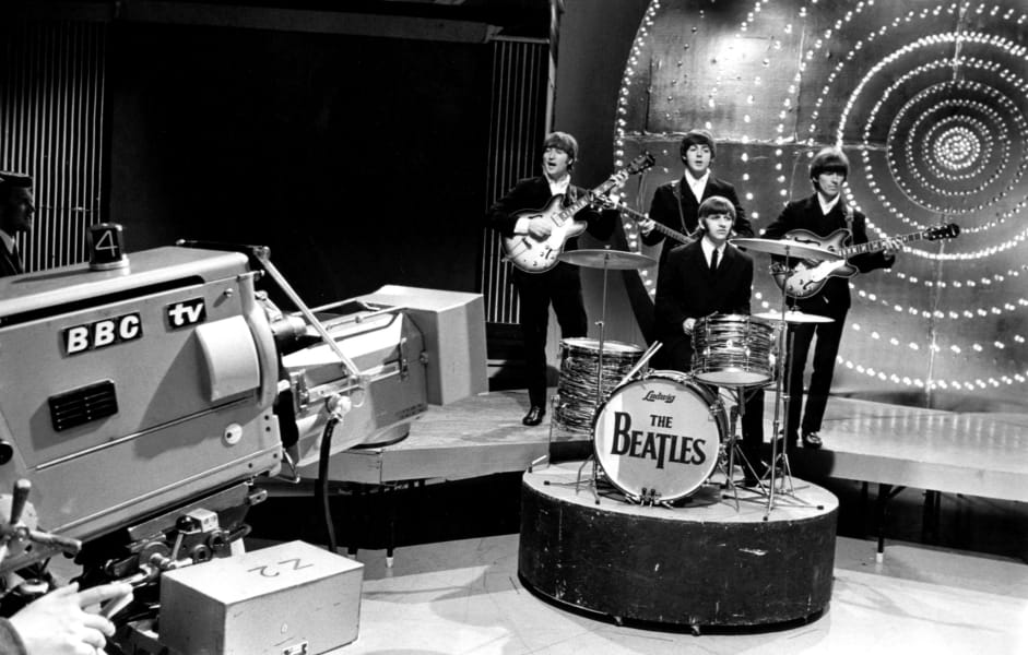 beatles top of the pops