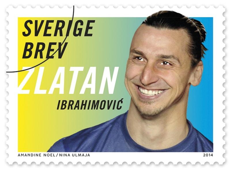 zlatan ibrahimovic stamp