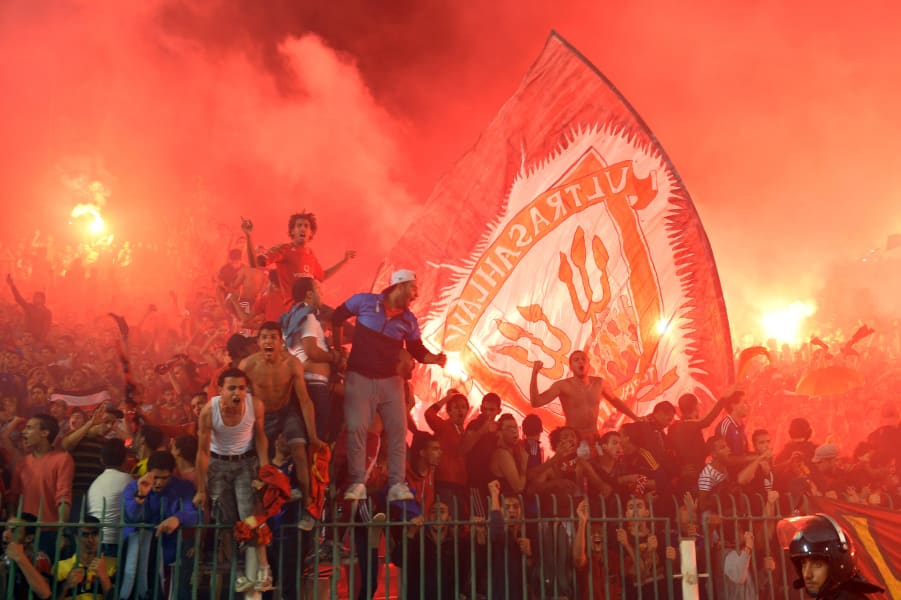 ahly gallery fans colour
