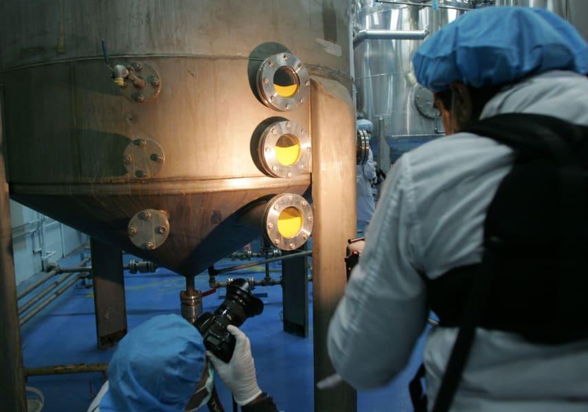 Iran Isfahan Uranium Facility