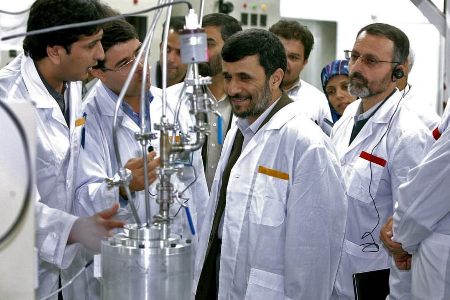 Iran Centrifuge Ahmadinejad