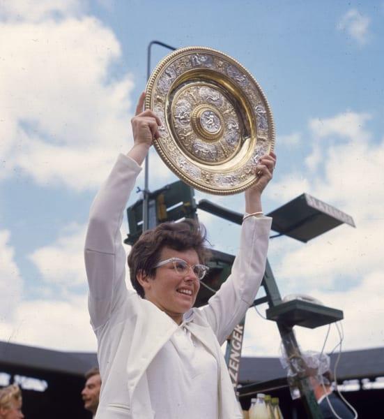 Billie Jean King Wimbledon 1967