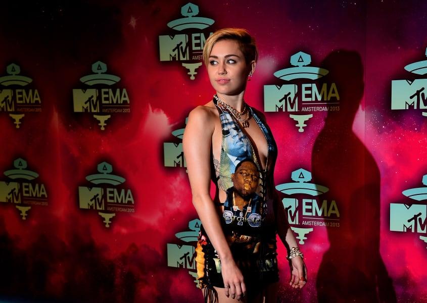 Miley Cyrus MTV EMAs November 2013