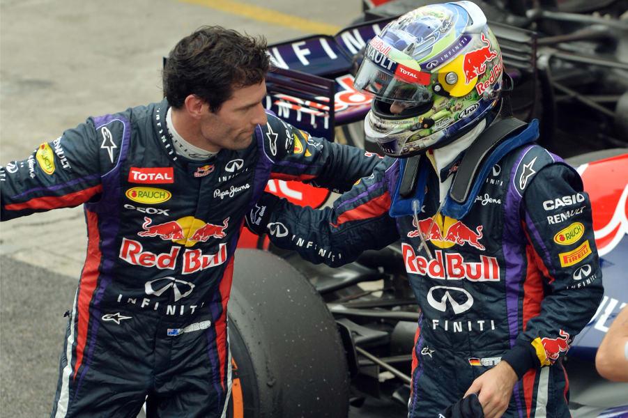 Vettel Webber