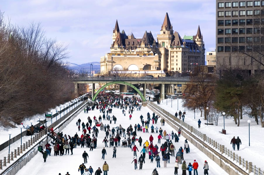 ice rink - rideau canal