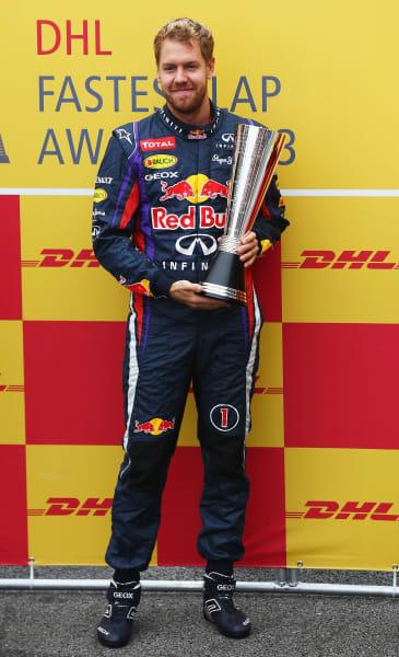 sebastian vettel fastest lap 2013