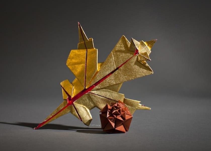 Origami Tutorial: Thanksgiving Roast Turkey (Kayhan Qaiser) - YouTube   600x839