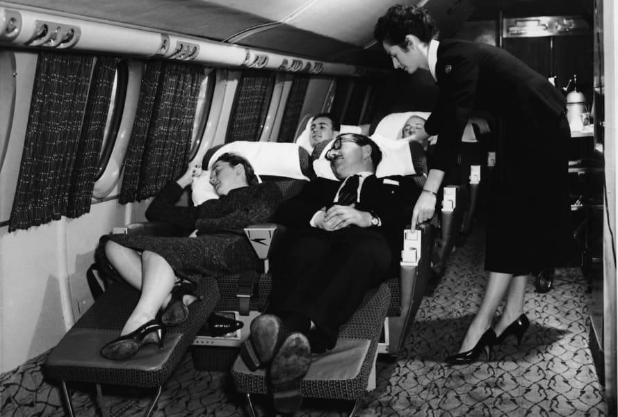 8. Ignoring flight attendant -- -- air travel complaints