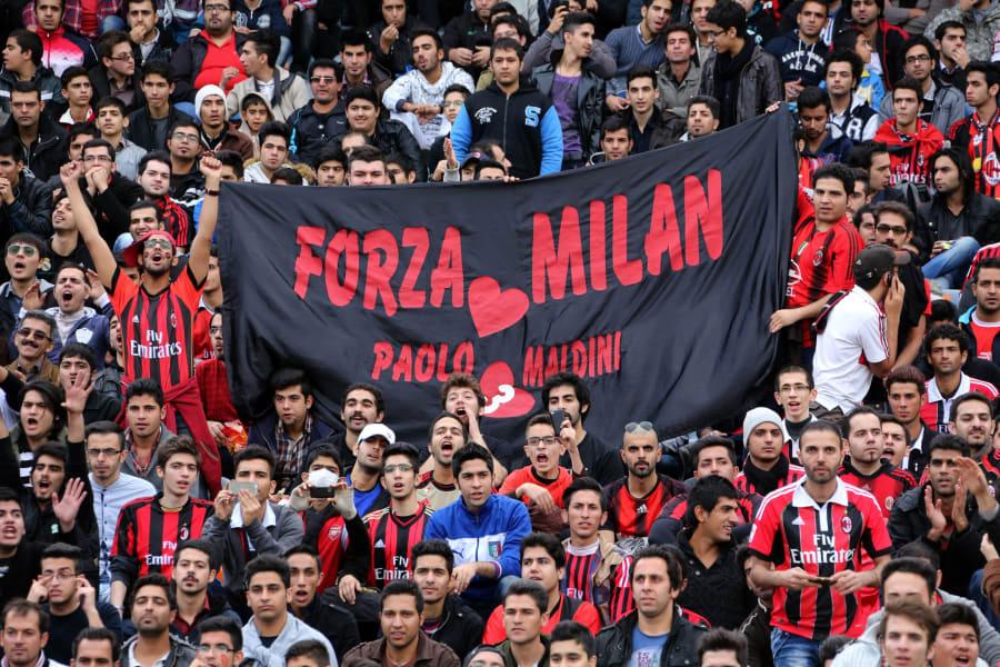 fans milan iran