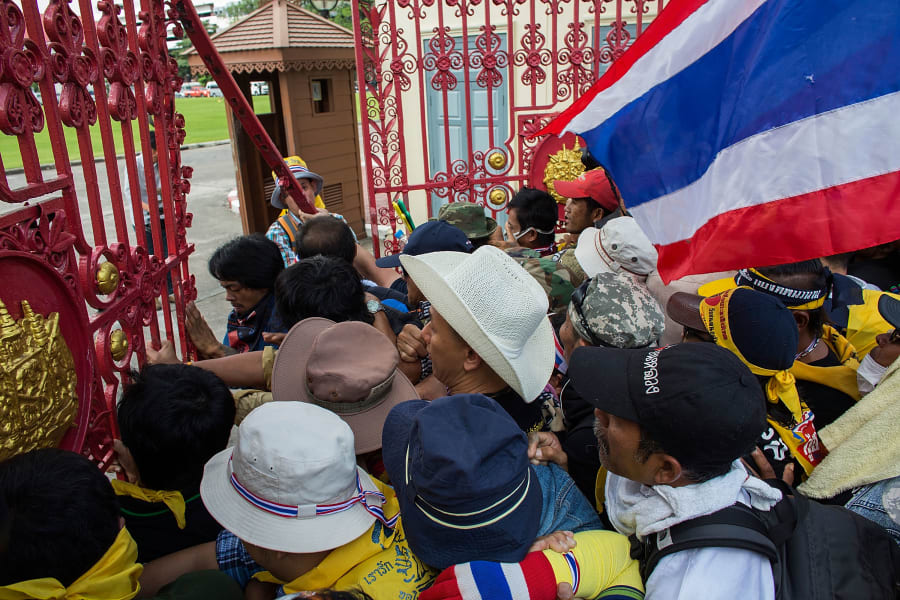 thailand protest army