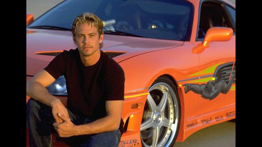 paul walker the fast and the furious