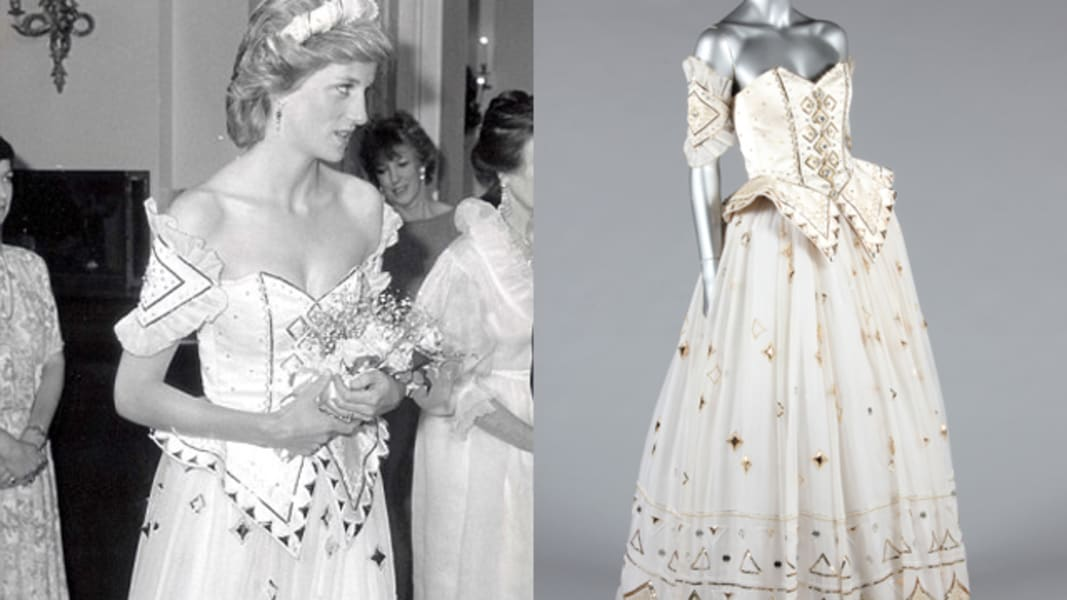 princess diana dress auction
