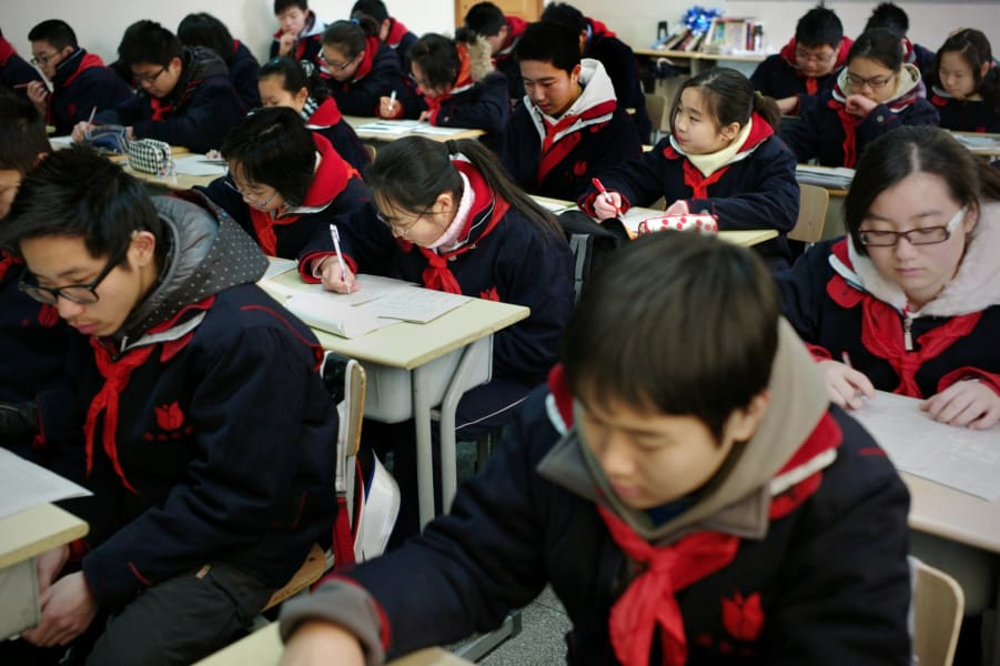 OECD education-shanghai