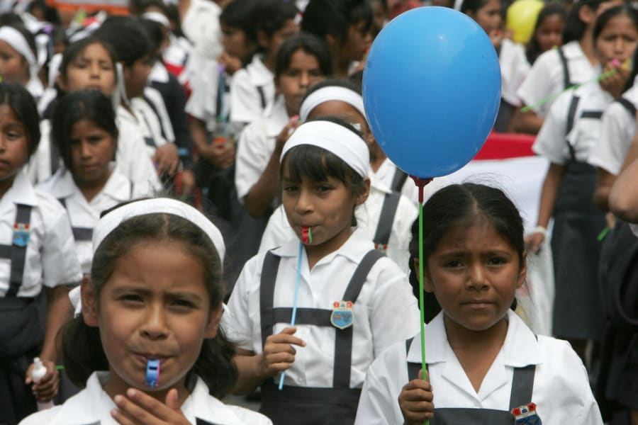 oecd education peru