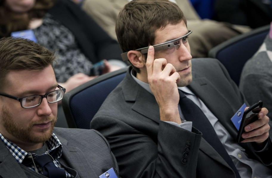 google glasses white house