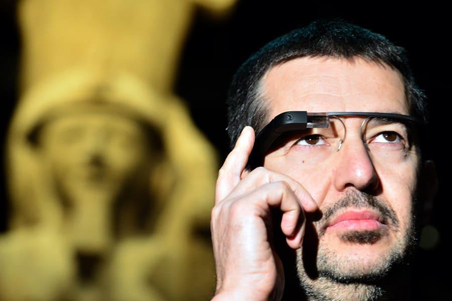 google glasses deaf user
