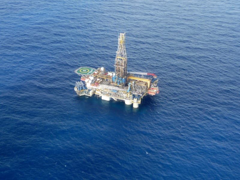Noble energy rig