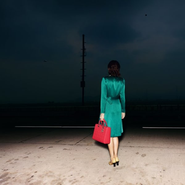 Quentin Shih  A Chinese Woman with a Lady Dior Handbag