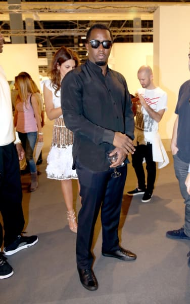 Art Basel Sean Combs p Diddy