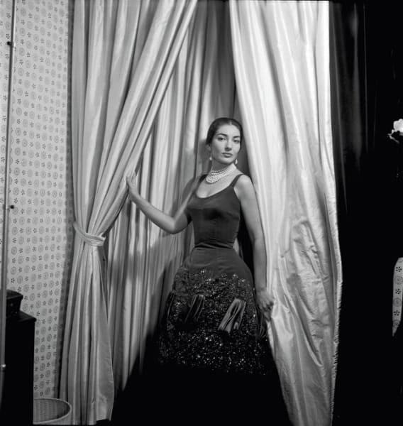Maria Callas pearls cecil Beaton