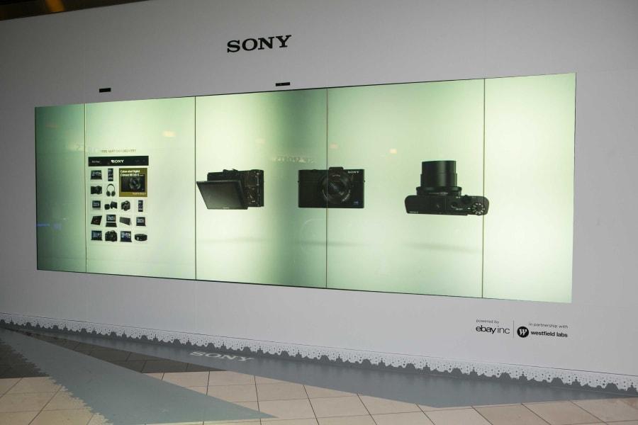 sony digital shopfront westfield san francisco