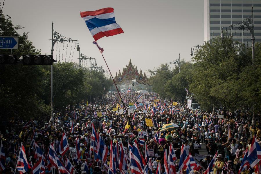 thailand demonstration