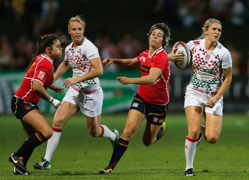 Megan Ellery rugby England