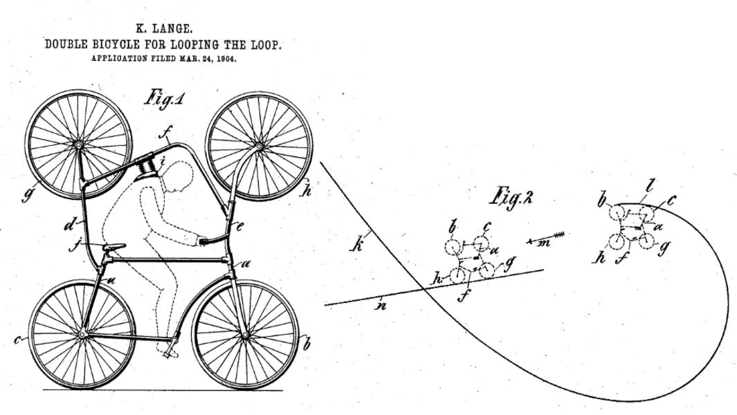 absurd inventions bike