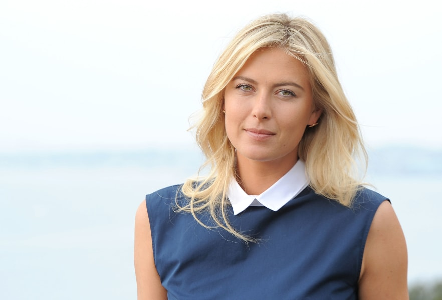 maria sharapova sports illustrated