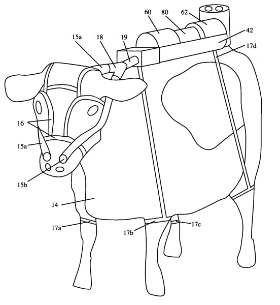 absurd inventions cow