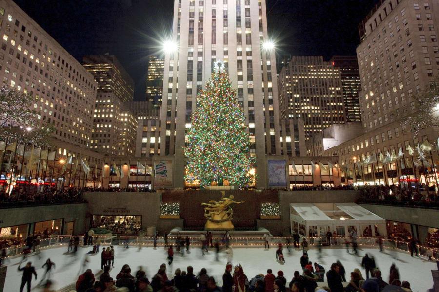 Christmas trees - Rockefeller tree