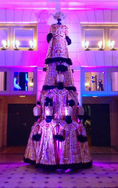 Christmas trees - opera tree paris