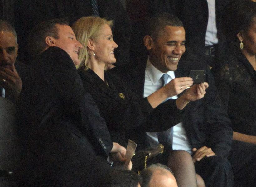 Obama selfie 3
