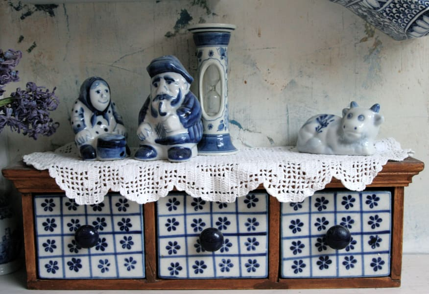 slava clown house blue detail