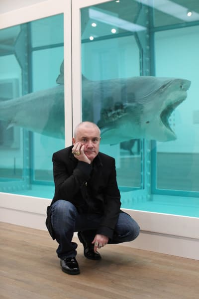 Damien Hirst shark physical impossibility of death