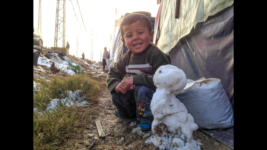 Bekaa snowman Scenes from the field