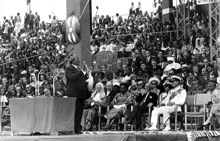 kenya timeline independence 1963
