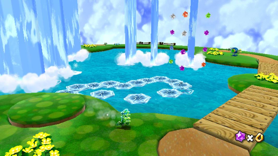 video game worlds super mario galaxy
