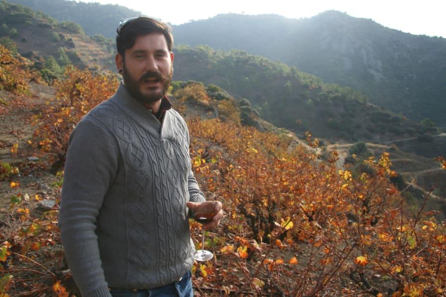 Winemaker Lefteris Mohianakis